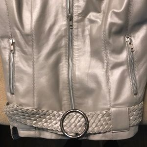 Cache Coeur Jackets & Coats - Cache leather jacket size 2